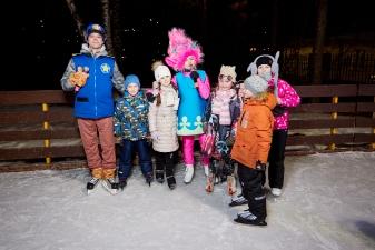 Ночь на катке: мульт-карнавал