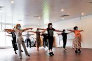 Смена места проведения занятий по танцам и аэробике